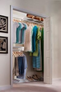 Expandable closet organization systems