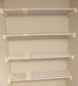 The EZ Shelf Expandable Linen Closet Kit Is Not Available For Both Small  Linen Closets And Large Linen Closets Alike. Visit Our Closet Organizers  Section ...