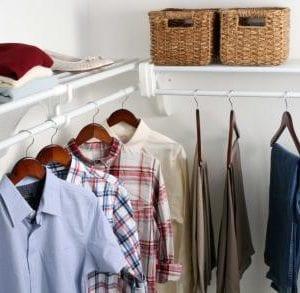 expandable closet systems